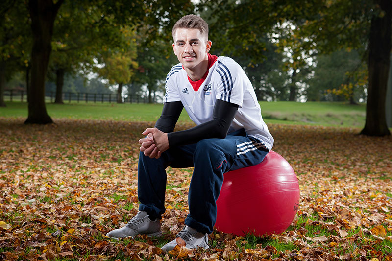 Max Whitlock English artistic gymnast